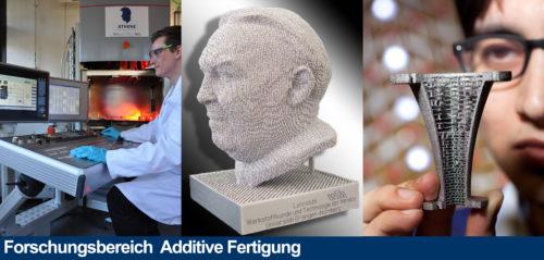 Forschungsbereich Additive Fertigung