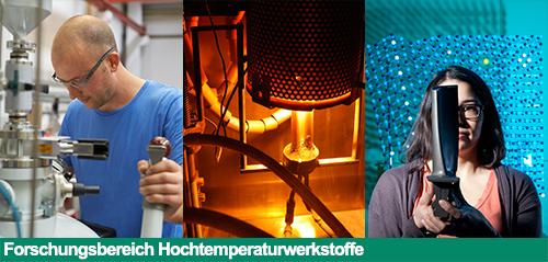 Bildlink zum Forschungsbereich Hochtemperaturwerkstoffe
