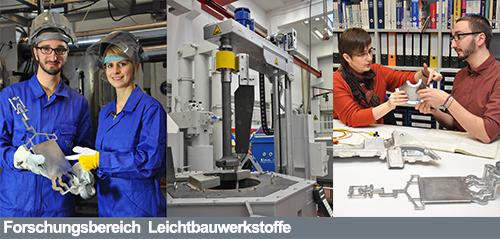 Bild zum Forschungsbereich Leichtbauwerkstoffe